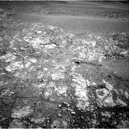 Nasa's Mars rover Curiosity acquired this image using its Right Navigation Camera on Sol 2555, at drive 3266, site number 76