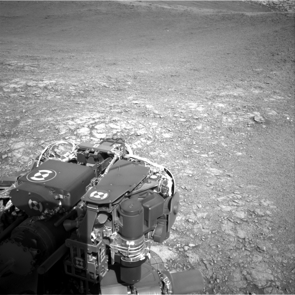 Nasa's Mars rover Curiosity acquired this image using its Right Navigation Camera on Sol 2555, at drive 0, site number 77