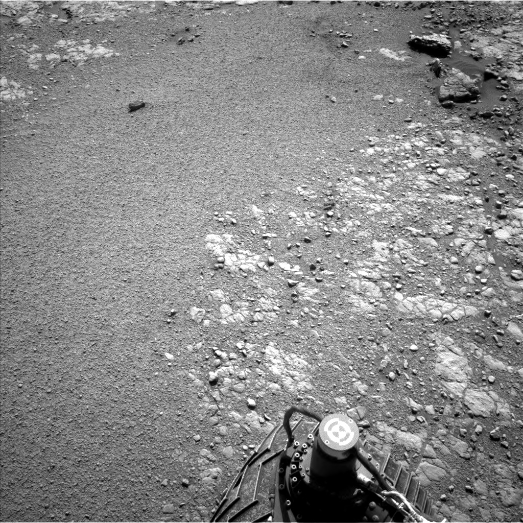 Nasa's Mars rover Curiosity acquired this image using its Left Navigation Camera on Sol 2556, at drive 70, site number 77