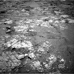Nasa's Mars rover Curiosity acquired this image using its Right Navigation Camera on Sol 2556, at drive 0, site number 77