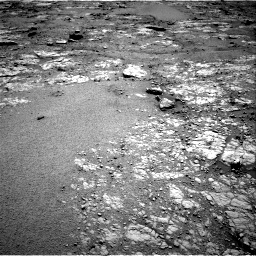Nasa's Mars rover Curiosity acquired this image using its Right Navigation Camera on Sol 2556, at drive 12, site number 77