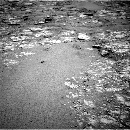 Nasa's Mars rover Curiosity acquired this image using its Right Navigation Camera on Sol 2556, at drive 18, site number 77