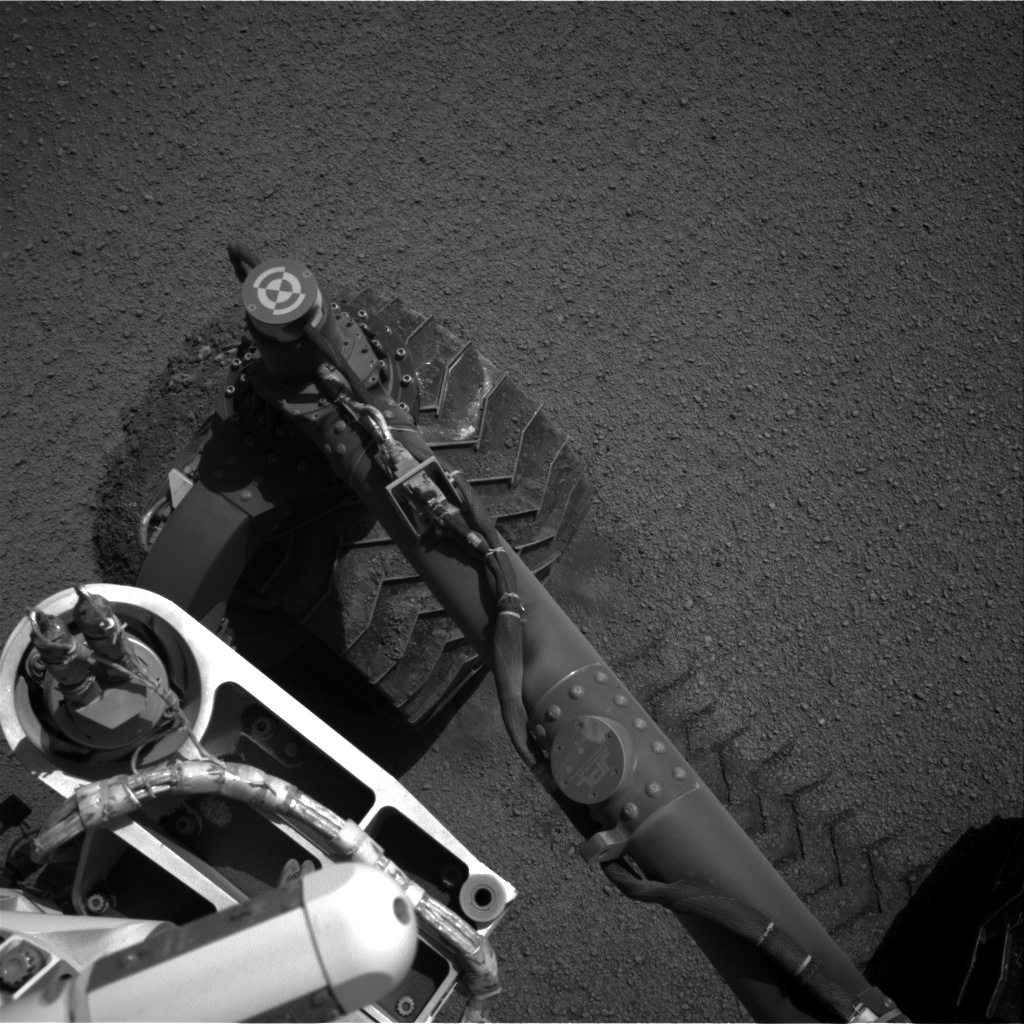 Nasa's Mars rover Curiosity acquired this image using its Right Navigation Camera on Sol 2556, at drive 34, site number 77