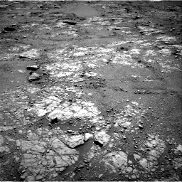 Nasa's Mars rover Curiosity acquired this image using its Right Navigation Camera on Sol 2556, at drive 46, site number 77