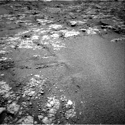 Nasa's Mars rover Curiosity acquired this image using its Right Navigation Camera on Sol 2556, at drive 58, site number 77