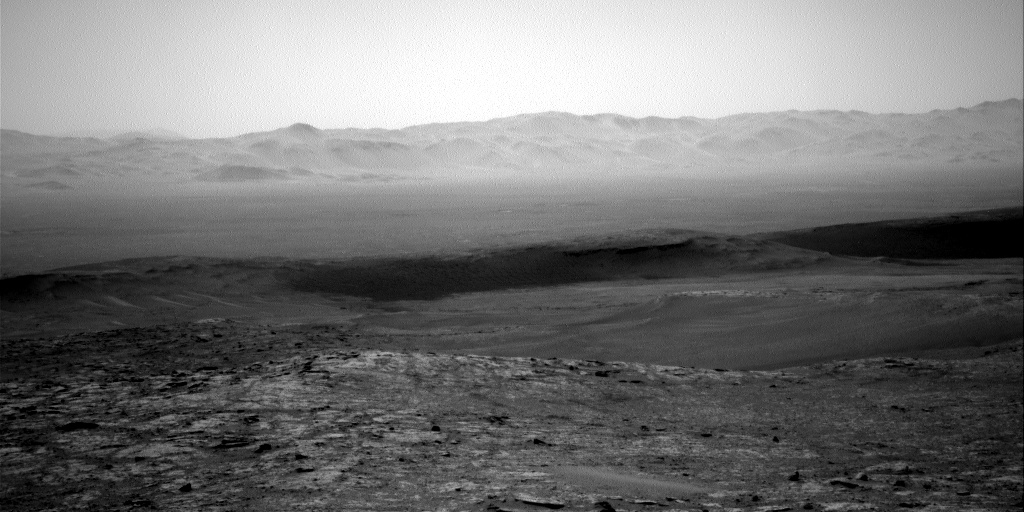 Nasa's Mars rover Curiosity acquired this image using its Right Navigation Camera on Sol 2557, at drive 70, site number 77