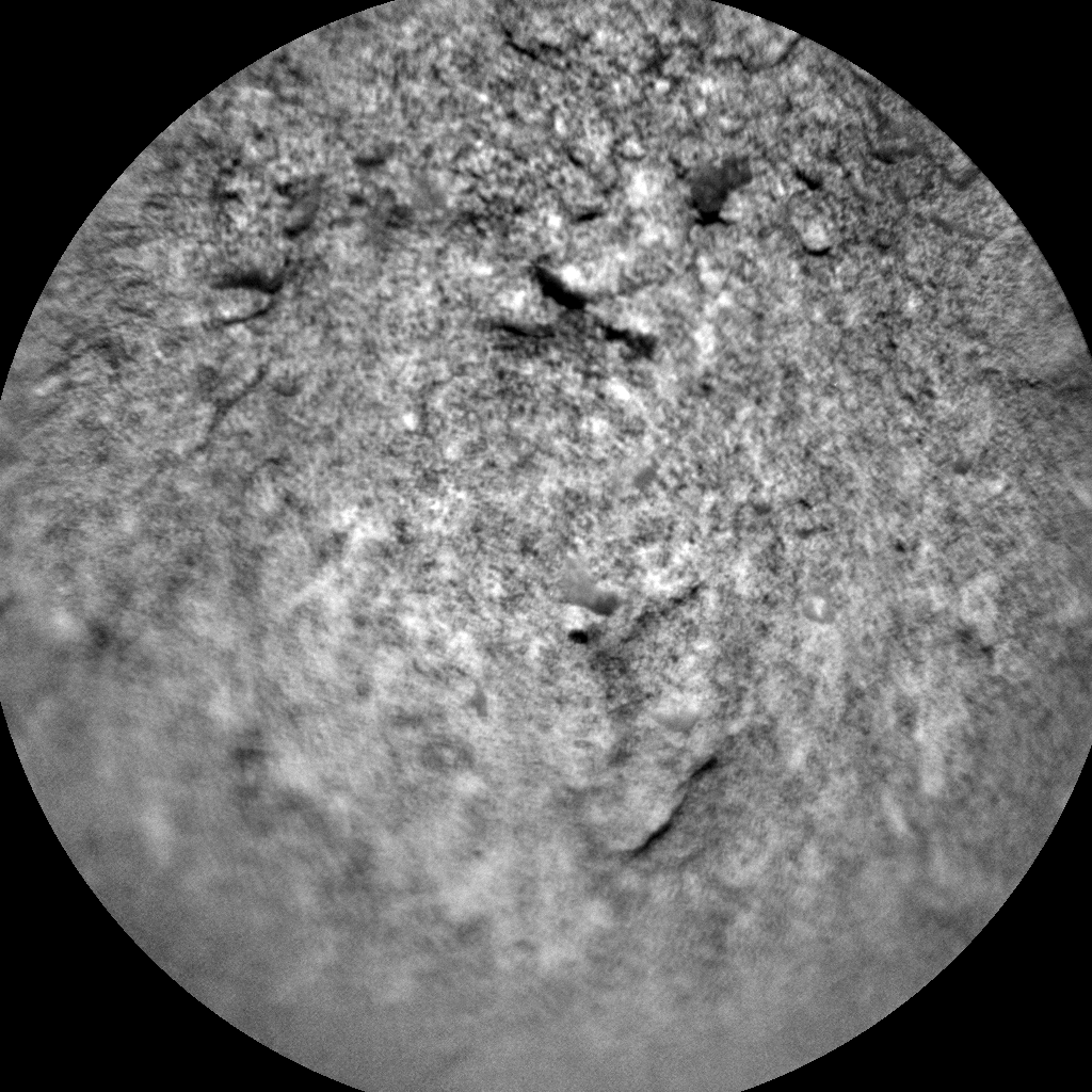 Nasa's Mars rover Curiosity acquired this image using its Chemistry & Camera (ChemCam) on Sol 2557, at drive 70, site number 77