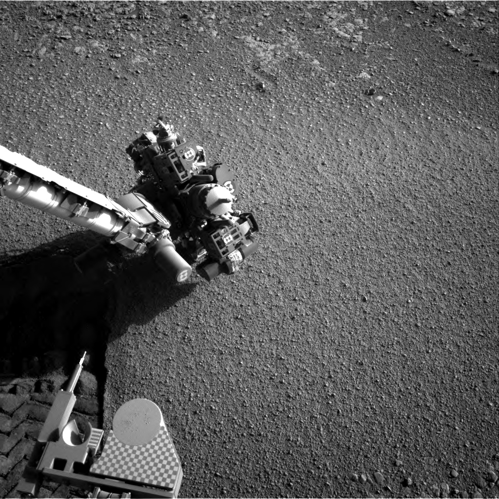 Nasa's Mars rover Curiosity acquired this image using its Right Navigation Camera on Sol 2558, at drive 70, site number 77