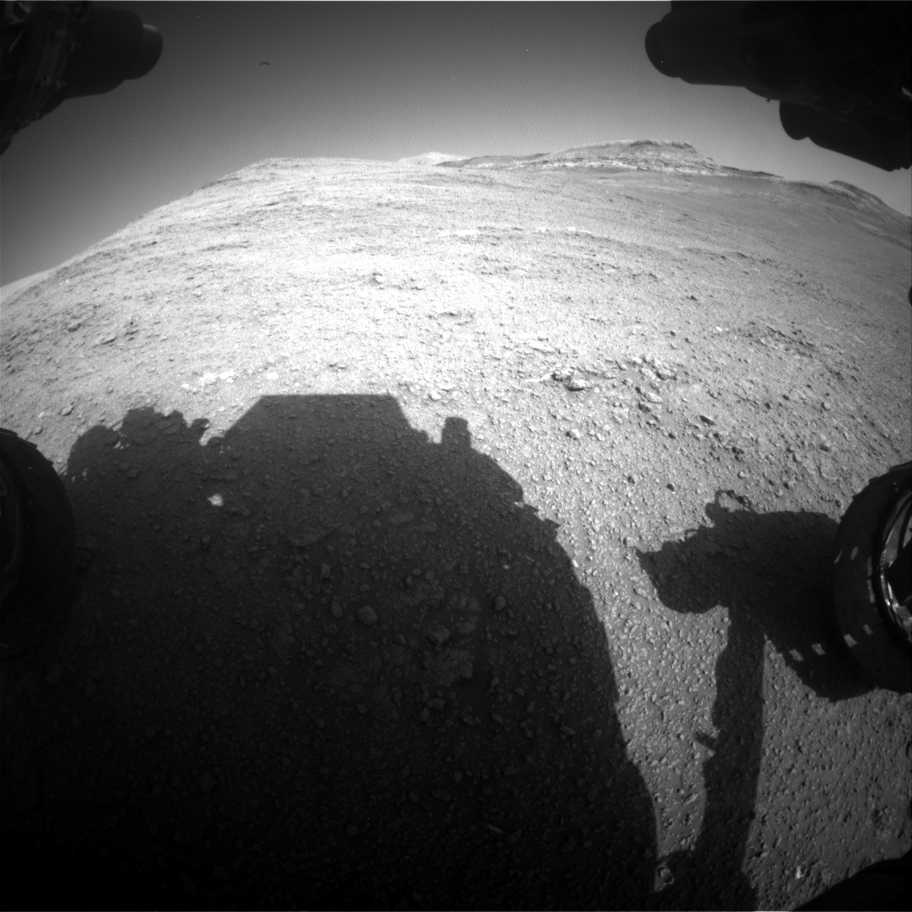 Nasa's Mars rover Curiosity acquired this image using its Front Hazard Avoidance Camera (Front Hazcam) on Sol 2559, at drive 292, site number 77