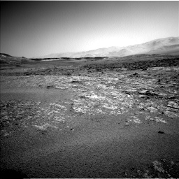 Nasa's Mars rover Curiosity acquired this image using its Left Navigation Camera on Sol 2559, at drive 82, site number 77