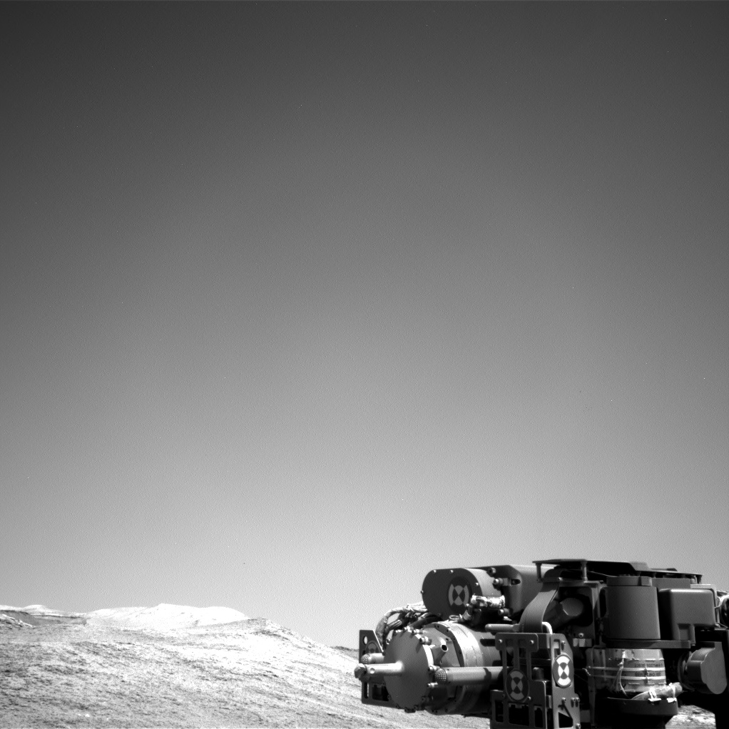 Nasa's Mars rover Curiosity acquired this image using its Right Navigation Camera on Sol 2559, at drive 70, site number 77