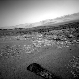 Nasa's Mars rover Curiosity acquired this image using its Right Navigation Camera on Sol 2559, at drive 100, site number 77