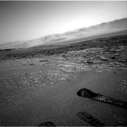 Nasa's Mars rover Curiosity acquired this image using its Right Navigation Camera on Sol 2559, at drive 112, site number 77