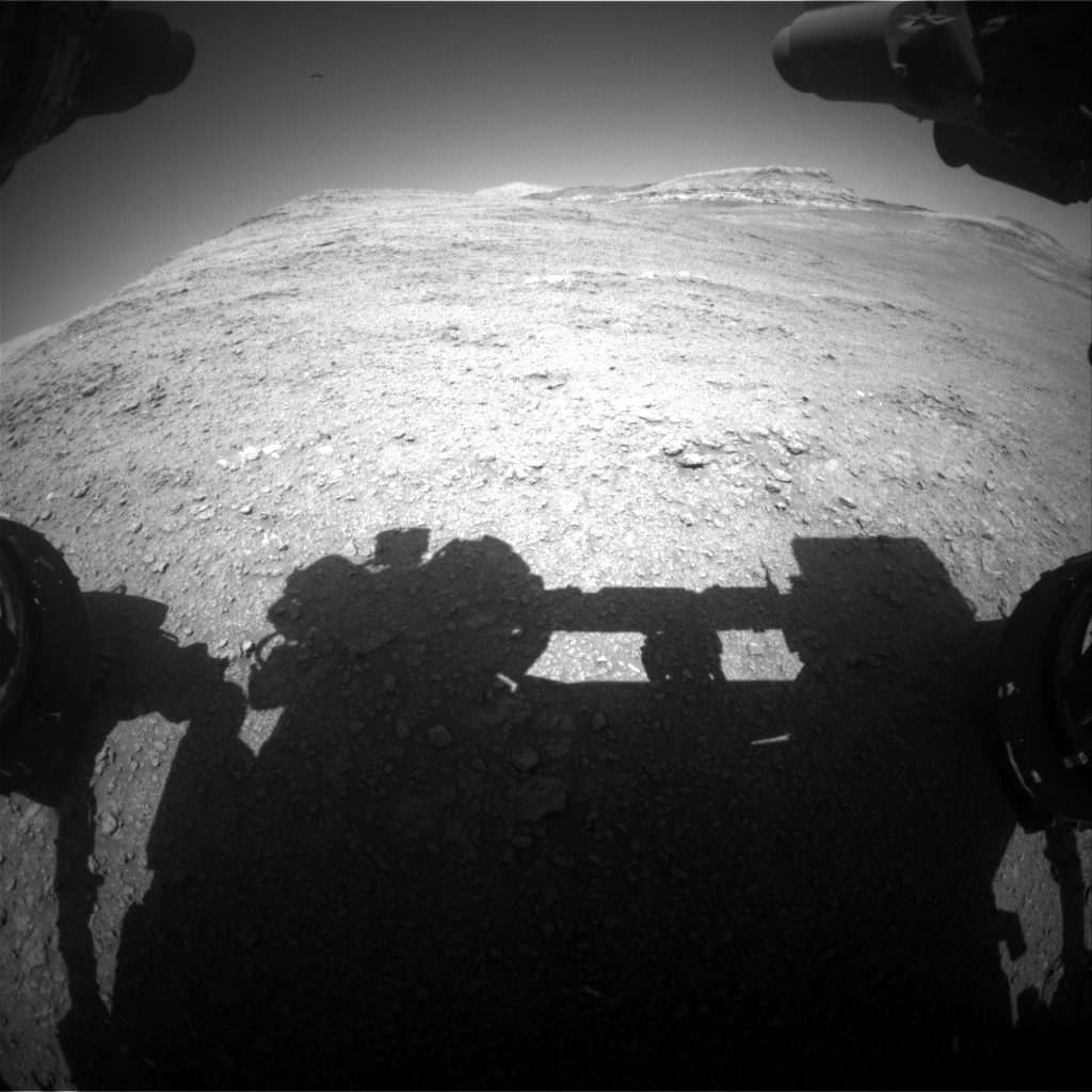 Nasa's Mars rover Curiosity acquired this image using its Front Hazard Avoidance Camera (Front Hazcam) on Sol 2560, at drive 292, site number 77