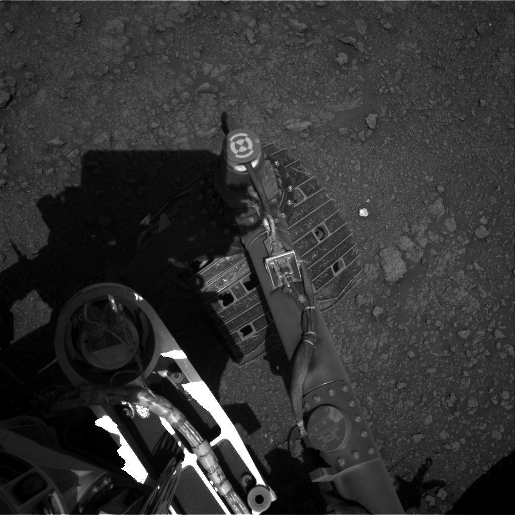 Nasa's Mars rover Curiosity acquired this image using its Right Navigation Camera on Sol 2560, at drive 292, site number 77