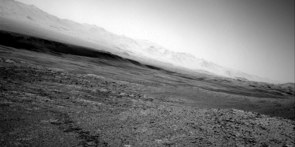 Nasa's Mars rover Curiosity acquired this image using its Right Navigation Camera on Sol 2561, at drive 292, site number 77