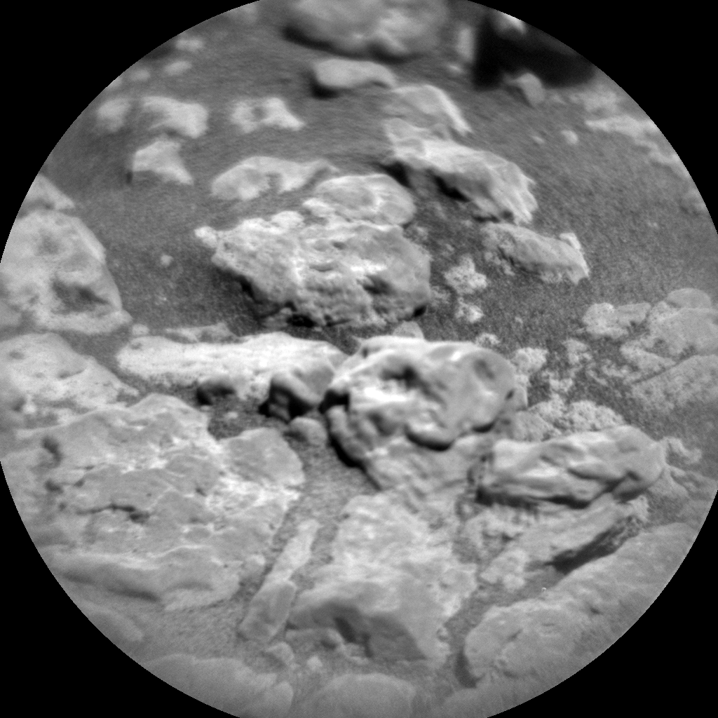 Nasa's Mars rover Curiosity acquired this image using its Chemistry & Camera (ChemCam) on Sol 2561, at drive 292, site number 77