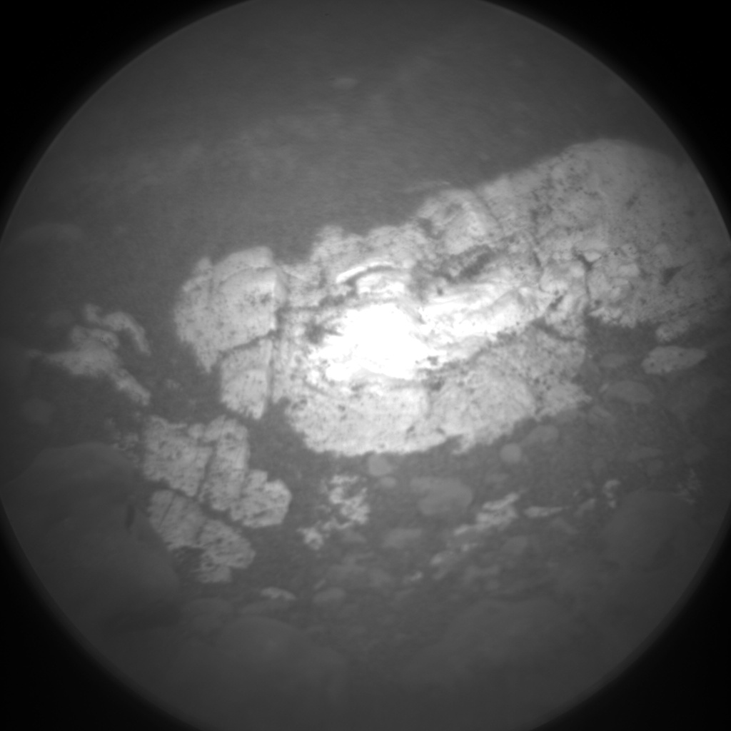 Nasa's Mars rover Curiosity acquired this image using its Chemistry & Camera (ChemCam) on Sol 2564, at drive 328, site number 77