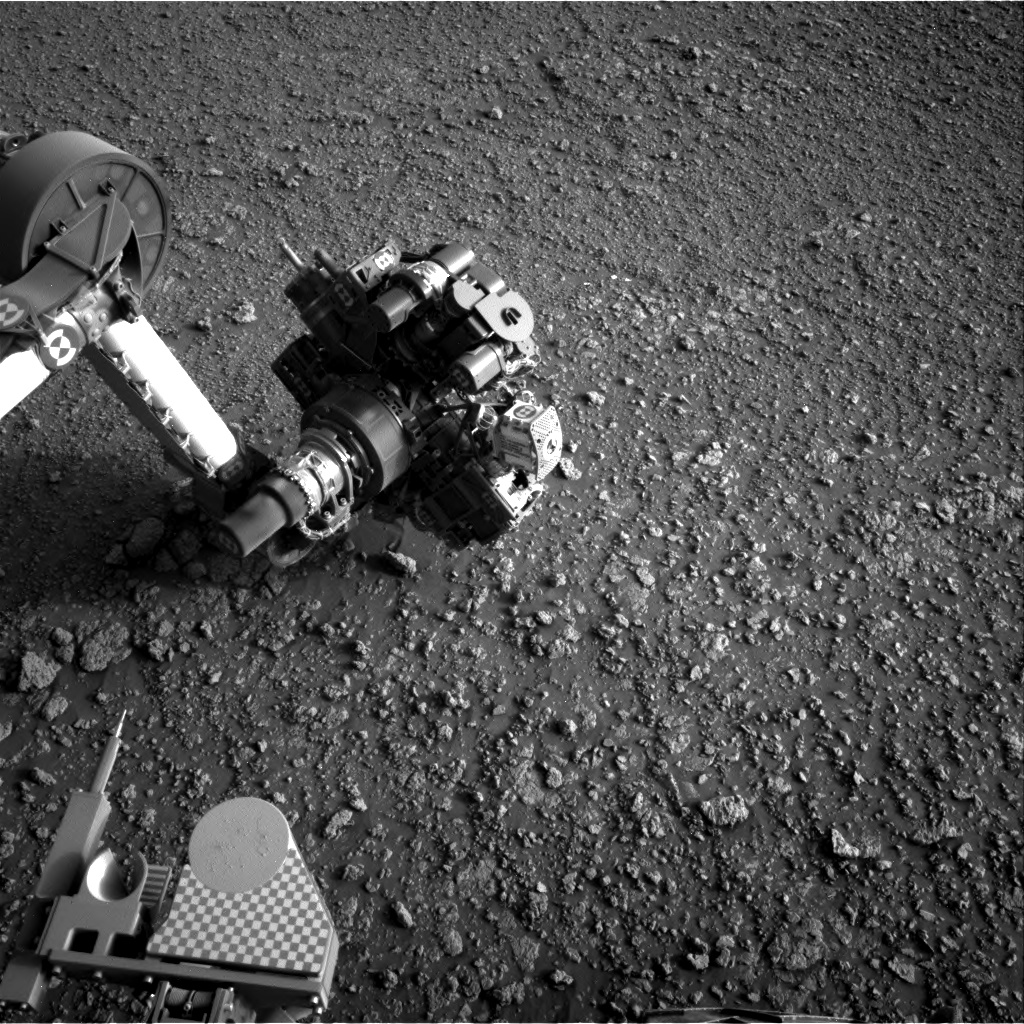 Nasa's Mars rover Curiosity acquired this image using its Right Navigation Camera on Sol 2564, at drive 328, site number 77
