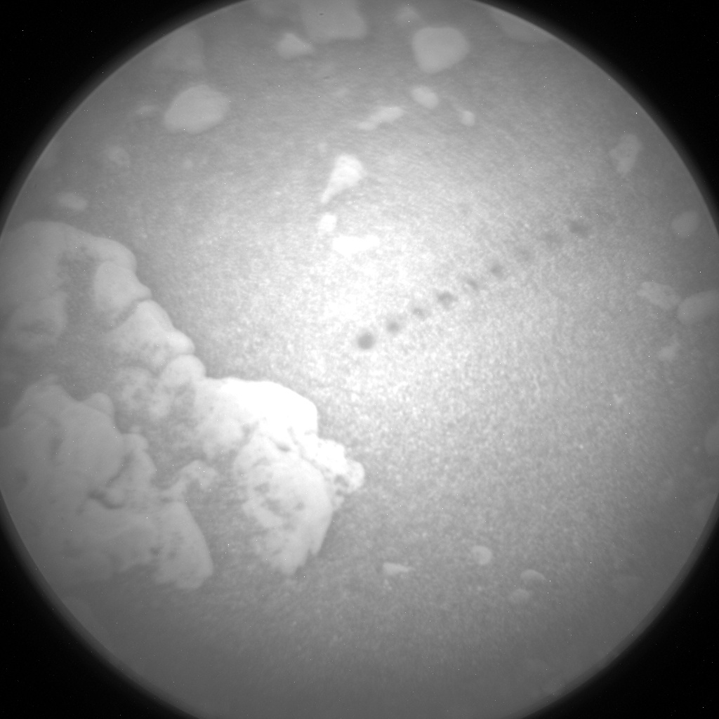 Nasa's Mars rover Curiosity acquired this image using its Chemistry & Camera (ChemCam) on Sol 2565, at drive 328, site number 77