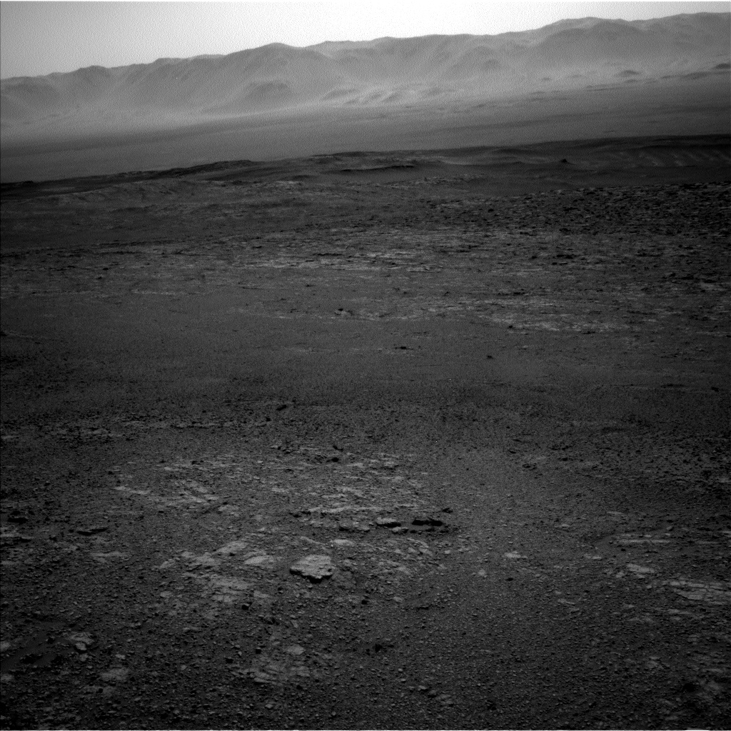 Nasa's Mars rover Curiosity acquired this image using its Left Navigation Camera on Sol 2565, at drive 574, site number 77