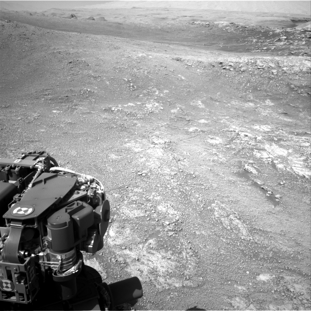 Nasa's Mars rover Curiosity acquired this image using its Right Navigation Camera on Sol 2565, at drive 574, site number 77