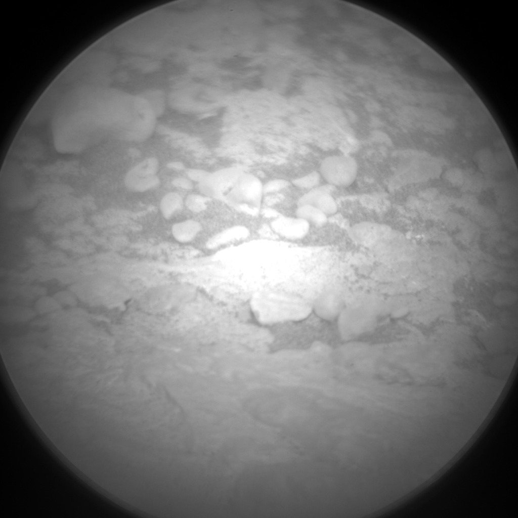 Nasa's Mars rover Curiosity acquired this image using its Chemistry & Camera (ChemCam) on Sol 2566, at drive 574, site number 77