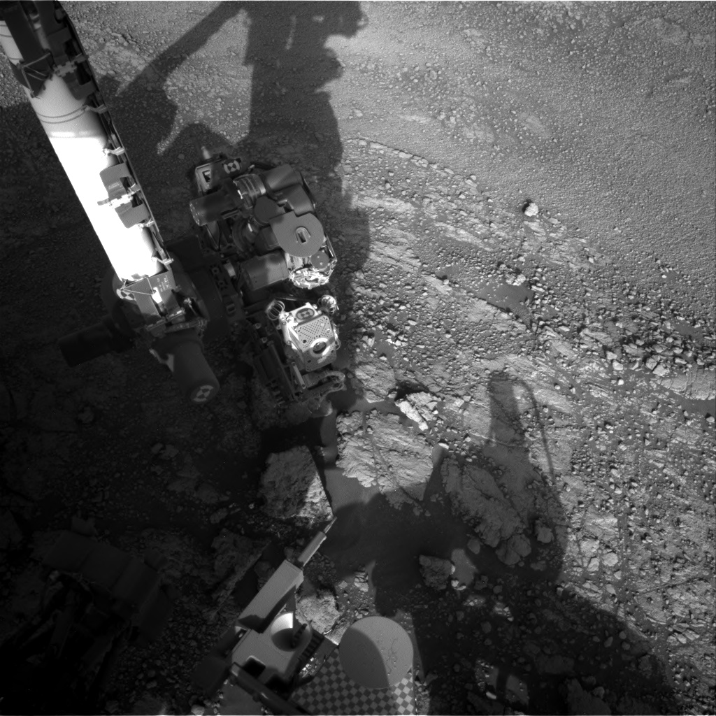 Nasa's Mars rover Curiosity acquired this image using its Right Navigation Camera on Sol 2567, at drive 574, site number 77