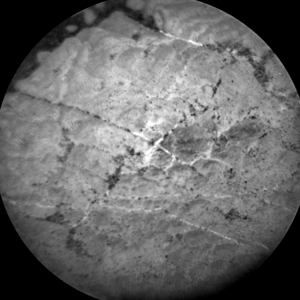 Nasa's Mars rover Curiosity acquired this image using its Chemistry & Camera (ChemCam) on Sol 2567, at drive 574, site number 77