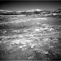 Nasa's Mars rover Curiosity acquired this image using its Left Navigation Camera on Sol 2568, at drive 574, site number 77