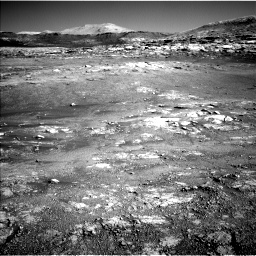 Nasa's Mars rover Curiosity acquired this image using its Left Navigation Camera on Sol 2568, at drive 592, site number 77