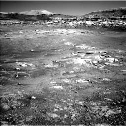 Nasa's Mars rover Curiosity acquired this image using its Left Navigation Camera on Sol 2568, at drive 598, site number 77