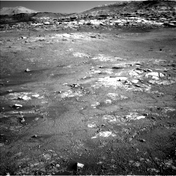 Nasa's Mars rover Curiosity acquired this image using its Left Navigation Camera on Sol 2568, at drive 610, site number 77