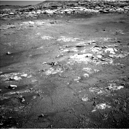 Nasa's Mars rover Curiosity acquired this image using its Left Navigation Camera on Sol 2568, at drive 622, site number 77