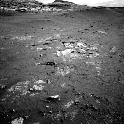 Nasa's Mars rover Curiosity acquired this image using its Left Navigation Camera on Sol 2568, at drive 646, site number 77