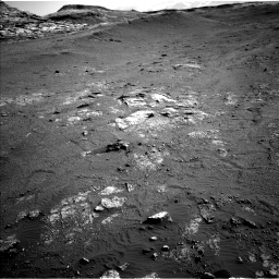 Nasa's Mars rover Curiosity acquired this image using its Left Navigation Camera on Sol 2568, at drive 652, site number 77