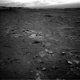 Nasa's Mars rover Curiosity acquired this image using its Left Navigation Camera on Sol 2568, at drive 676, site number 77