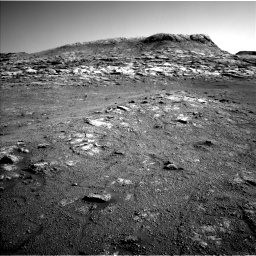 Nasa's Mars rover Curiosity acquired this image using its Left Navigation Camera on Sol 2568, at drive 718, site number 77