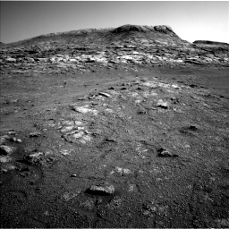 Nasa's Mars rover Curiosity acquired this image using its Left Navigation Camera on Sol 2568, at drive 736, site number 77