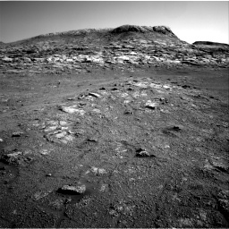 Nasa's Mars rover Curiosity acquired this image using its Right Navigation Camera on Sol 2568, at drive 736, site number 77