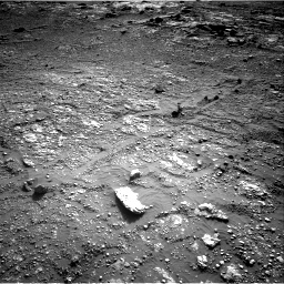 Nasa's Mars rover Curiosity acquired this image using its Right Navigation Camera on Sol 2568, at drive 856, site number 77