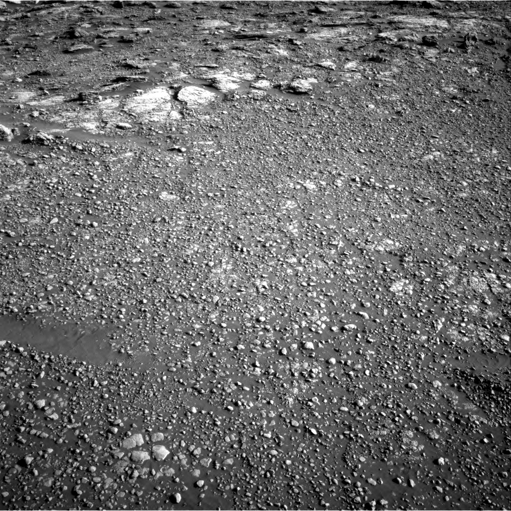 Nasa's Mars rover Curiosity acquired this image using its Right Navigation Camera on Sol 2568, at drive 862, site number 77