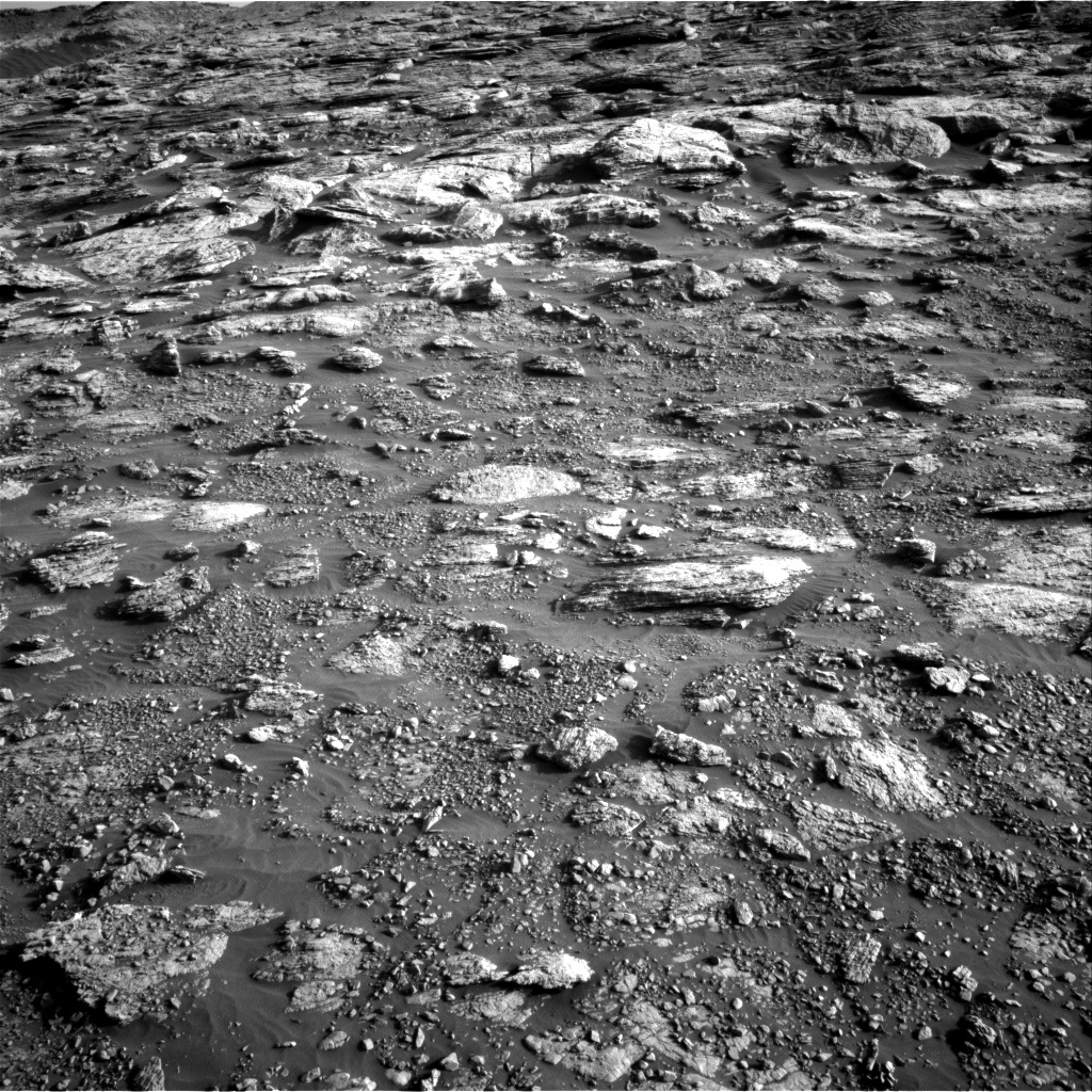 Nasa's Mars rover Curiosity acquired this image using its Right Navigation Camera on Sol 2568, at drive 910, site number 77