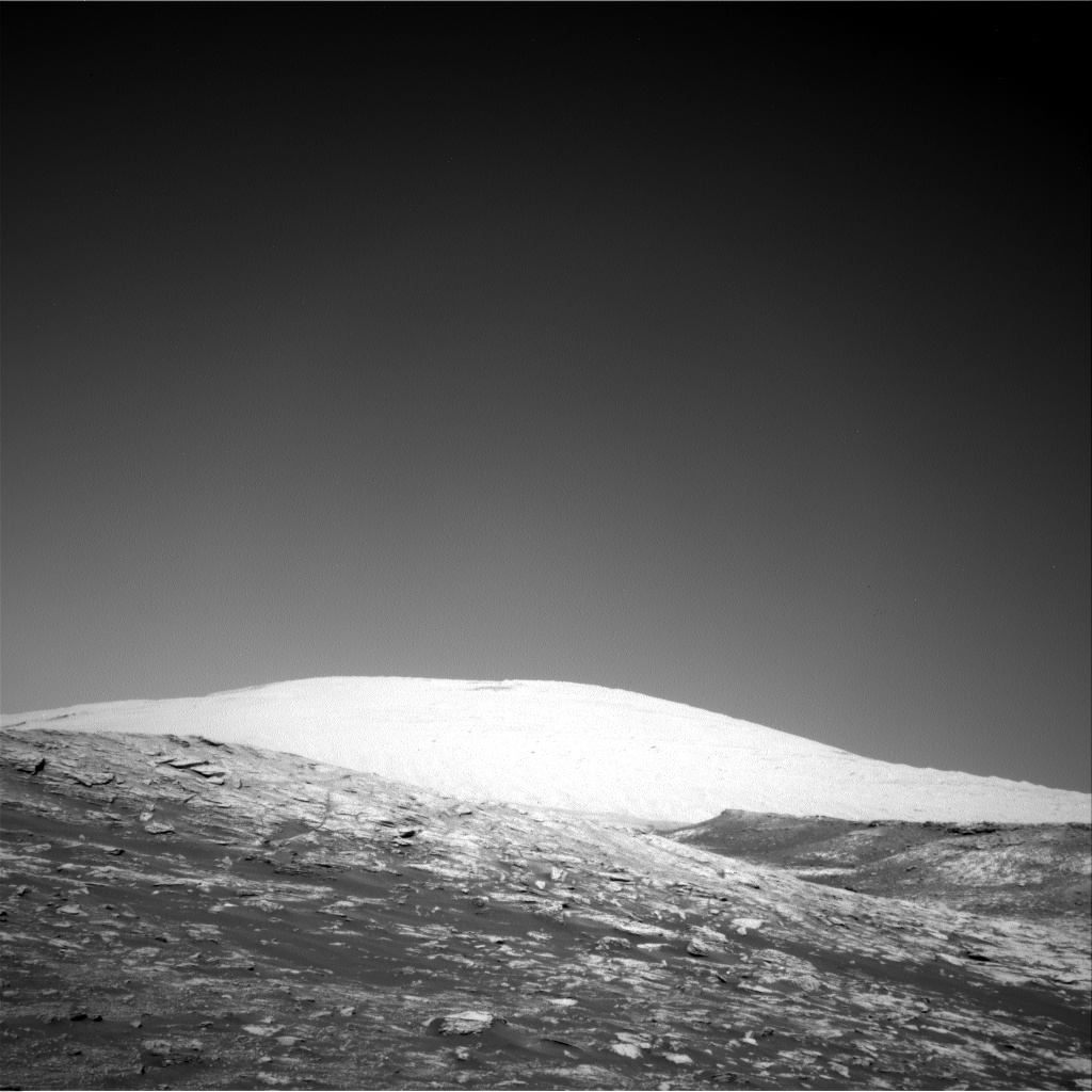 Nasa's Mars rover Curiosity acquired this image using its Right Navigation Camera on Sol 2569, at drive 910, site number 77
