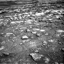Nasa's Mars rover Curiosity acquired this image using its Right Navigation Camera on Sol 2570, at drive 916, site number 77