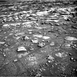 Nasa's Mars rover Curiosity acquired this image using its Right Navigation Camera on Sol 2570, at drive 922, site number 77