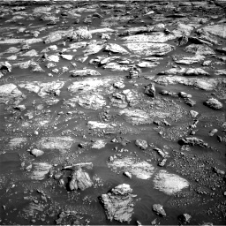 Nasa's Mars rover Curiosity acquired this image using its Right Navigation Camera on Sol 2570, at drive 934, site number 77