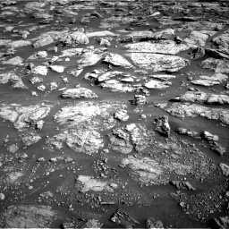 Nasa's Mars rover Curiosity acquired this image using its Right Navigation Camera on Sol 2570, at drive 940, site number 77