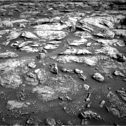 Nasa's Mars rover Curiosity acquired this image using its Right Navigation Camera on Sol 2570, at drive 952, site number 77