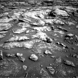 Nasa's Mars rover Curiosity acquired this image using its Right Navigation Camera on Sol 2570, at drive 964, site number 77